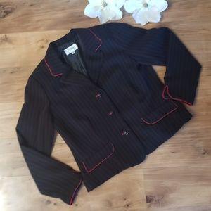 Studio I black suit blazer